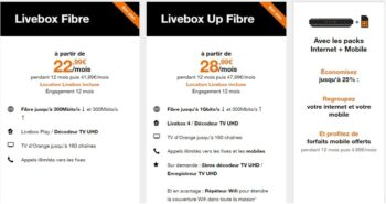 Forfait Orange Mobil Box Internet